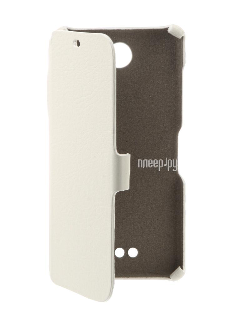 Чехол BQ BQS-5050 Strike Selfie Cojess Ultra Slim Book Экокожа флотер Red