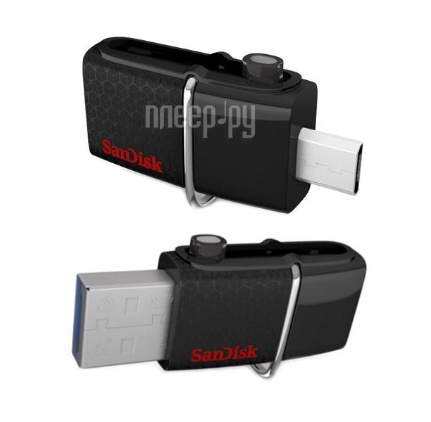 USB Flash Drive 32Gb - SanDisk Dual Drive SDDD2-032G-GAM46