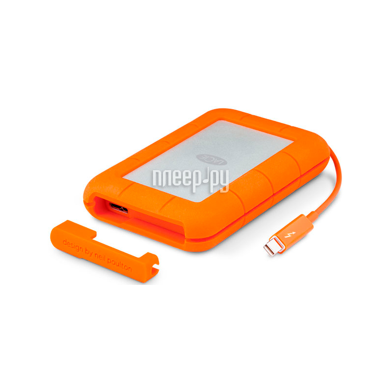Жесткий диск LaCie Original USB 3.0 1Tb Rugged V2 STEV1000400