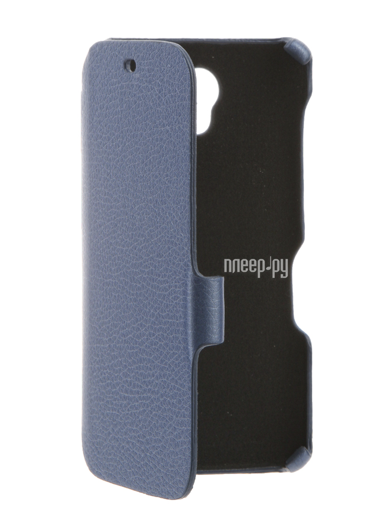 Аксессуар Чехол BQ BQS-4560 Golf Cojess Ultra Slim Book Экокожа флотер Light Blue