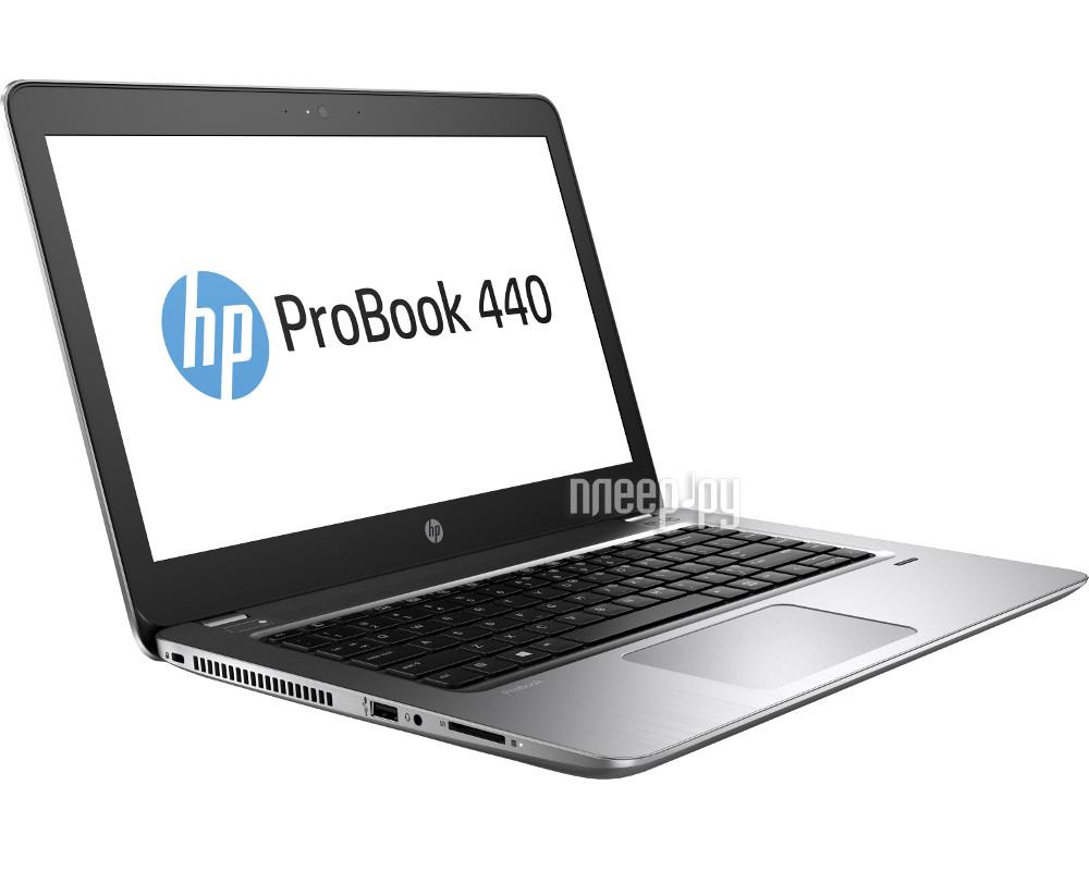 Ноутбук HP ProBook 440 G4 Y7Z73EA (Intel Core i5-7200U 2.5 GHz / 4096Mb / 500Gb / Intel HD Graphics / Wi-Fi / Bluetooth / Cam / 14.0 / 1366x768 / Windows 10 64-bit)
