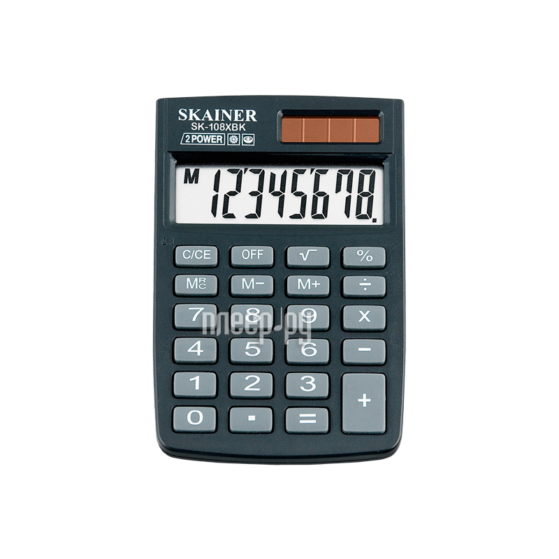 Калькулятор Skainer SK-108XBK