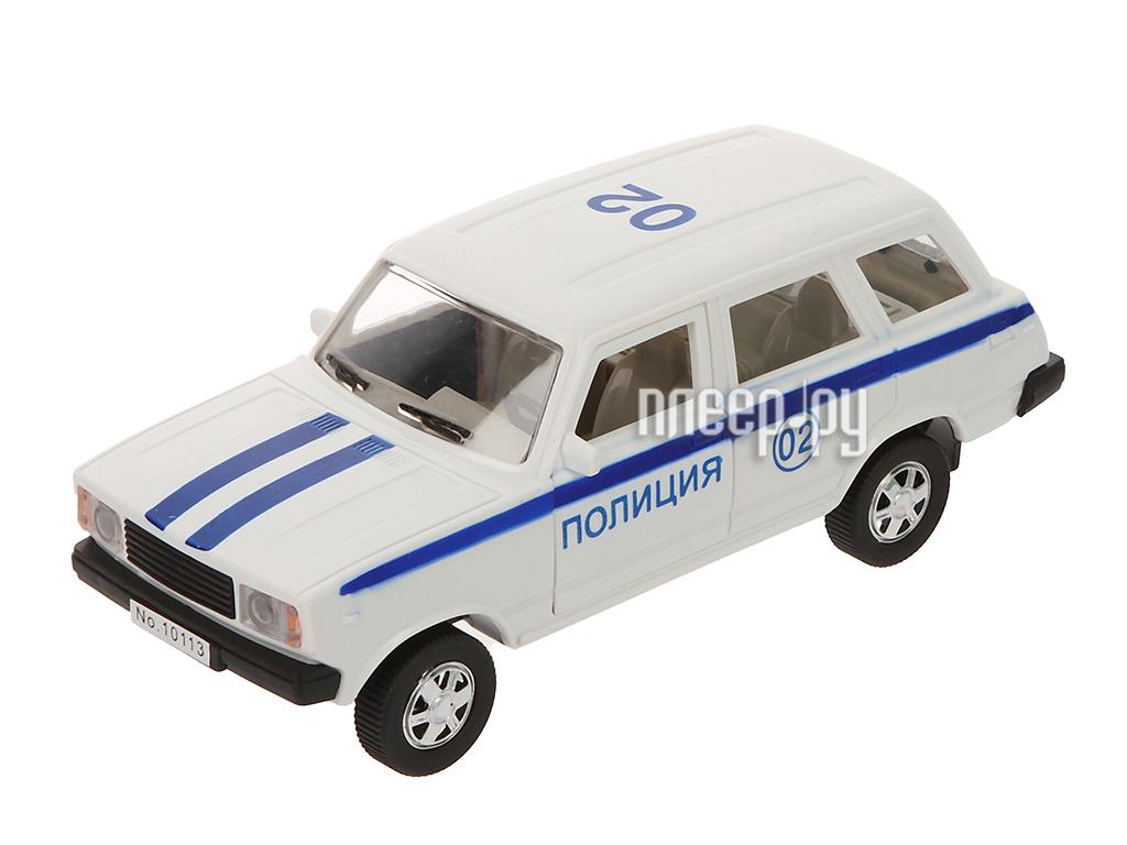 Машина Авто по-Русски ПОЛИЦИЯ 10902АПР