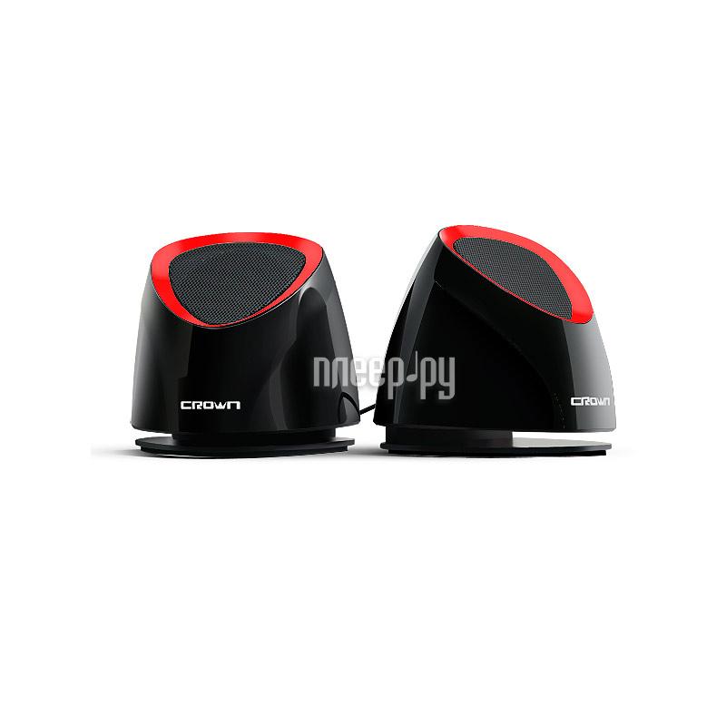 Колонка Crown CMS-279 Black-Red