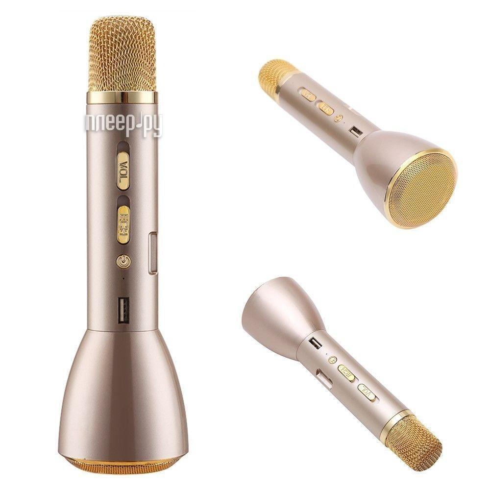 Микрофон Magic Karaoke K-088 Gold