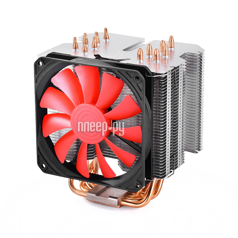 Кулер DeepCool K2 Black DPGS-MCH6-LCK2 (Intel 2011/1366/1156/1155/1151/1150/775 /AMD FM2/FM1/AM3+/AM3/AM2+/AM2)