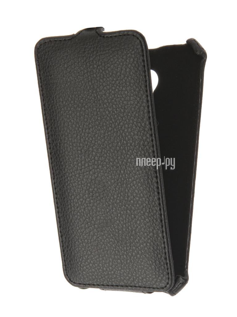 Аксессуар Чехол Meizu M5 Zibelino Classico Black ZCL-MZ-M5-BLK