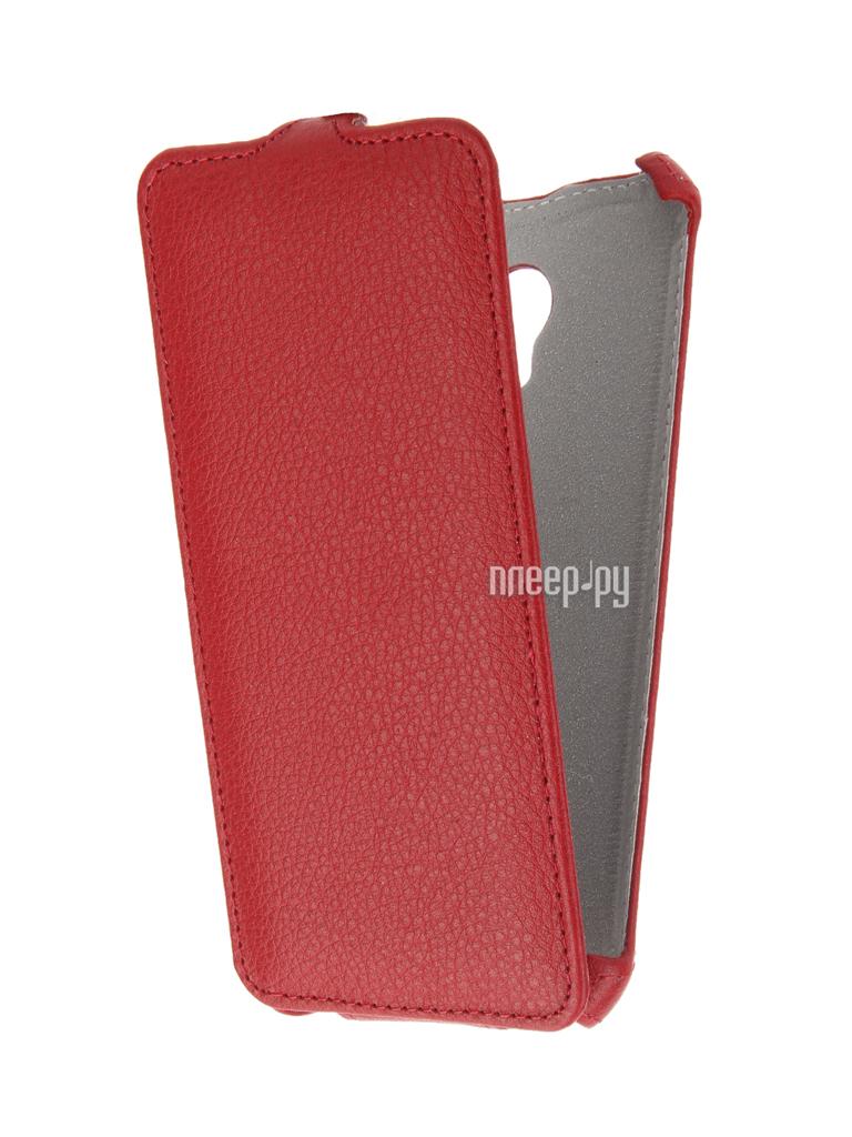 Аксессуар Чехол Meizu M5 Zibelino Classico Red ZCL-MZ-M5-RED