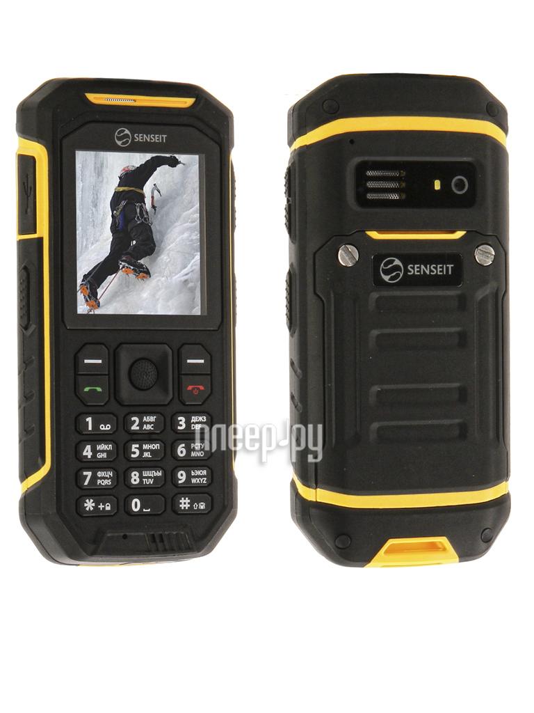 Сотовый телефон SENSEIT P300 Yellow