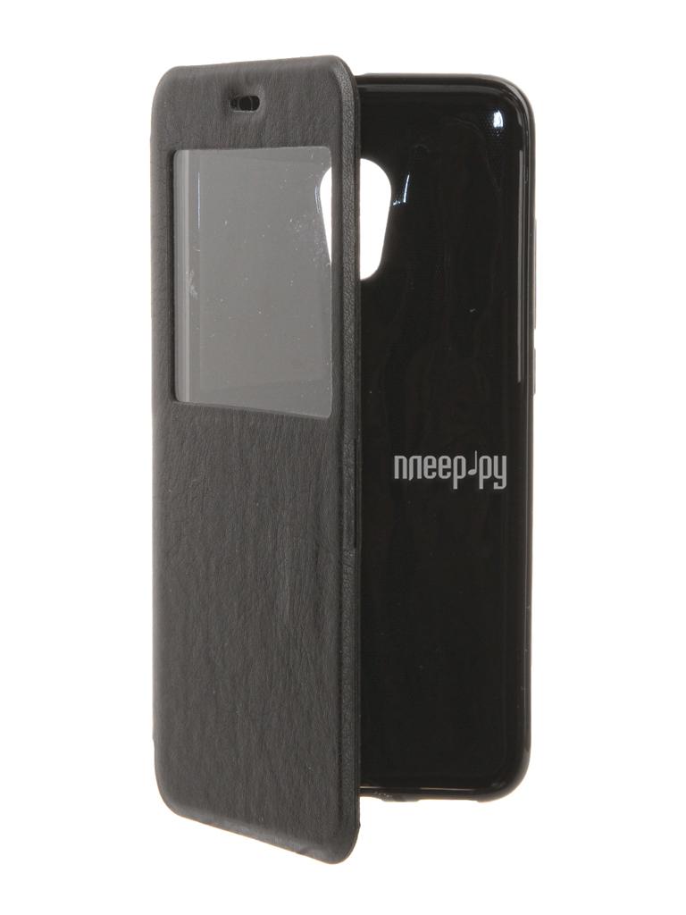 Аксессуар Чехол Meizu Pro 6 Cojess Book Case Time Black с окном
