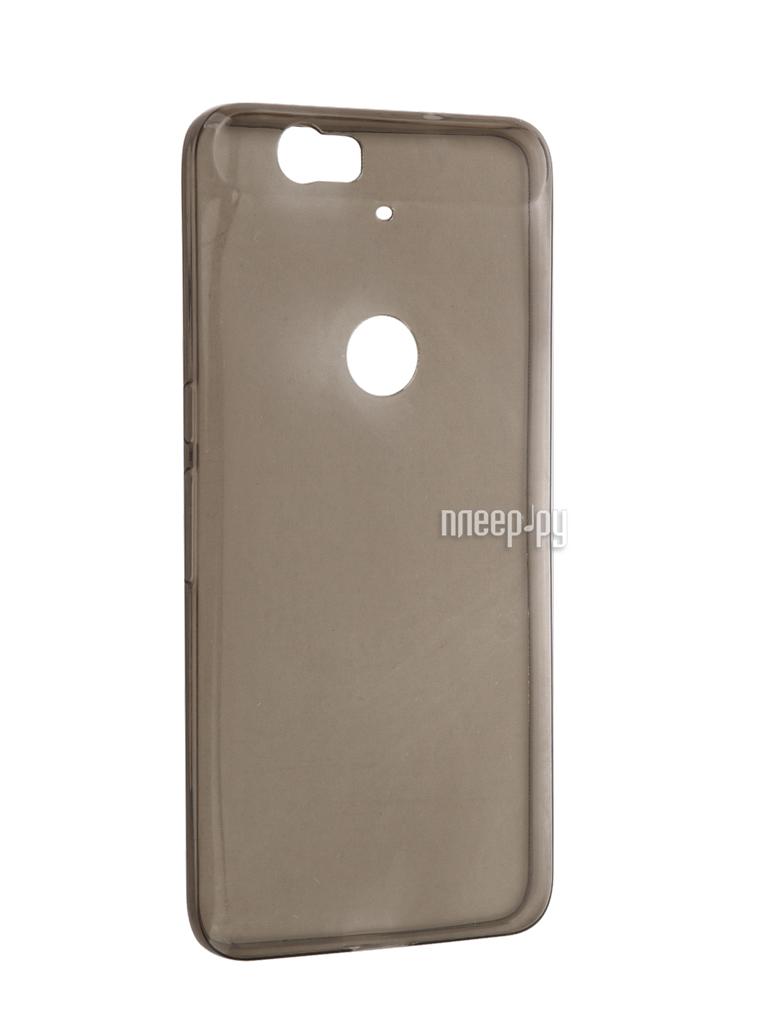 Аксессуар Чехол Huawei Nexus 6P Cojess Silicone TPU 0.3mm Grey глянцевый