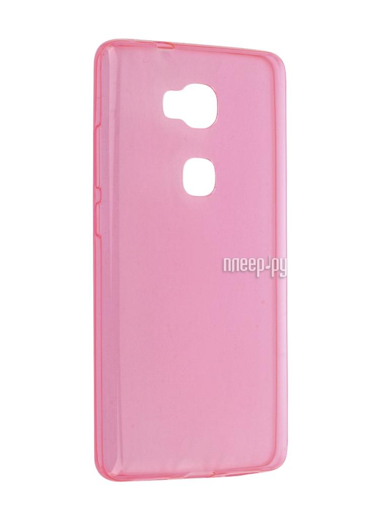 Аксессуар Чехол Huawei Honor 5X / Mate 7 Mini Cojess Silicone TPU 0.3mm Pink глянцевый