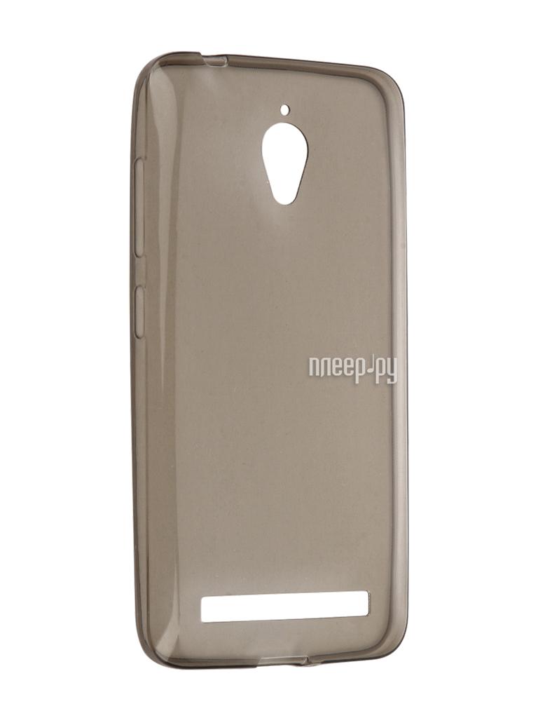 Аксессуар Чехол ASUS ZenFone Go ZC500TG Cojess Silicone TPU 0.3mm Grey глянцевый