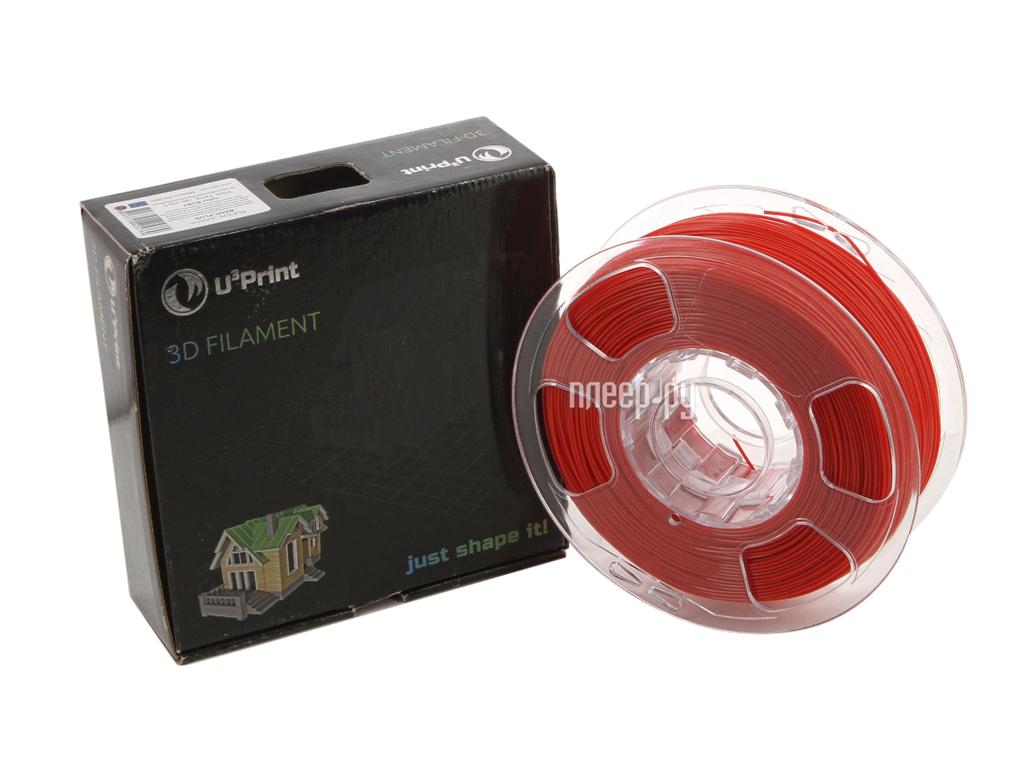 Аксессуар U3Print PLA-пластик 1.75mm Basic Plus Ruby
