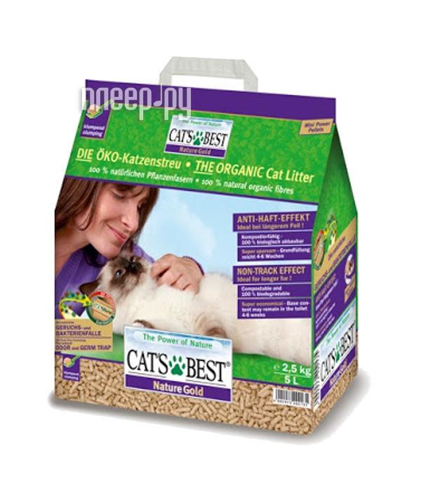 Наполнитель CatS Best Nature Gold 2.5kg
