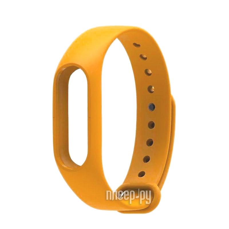 Aксессуар Ремешок Xiaomi Mi Band 2 Orange
