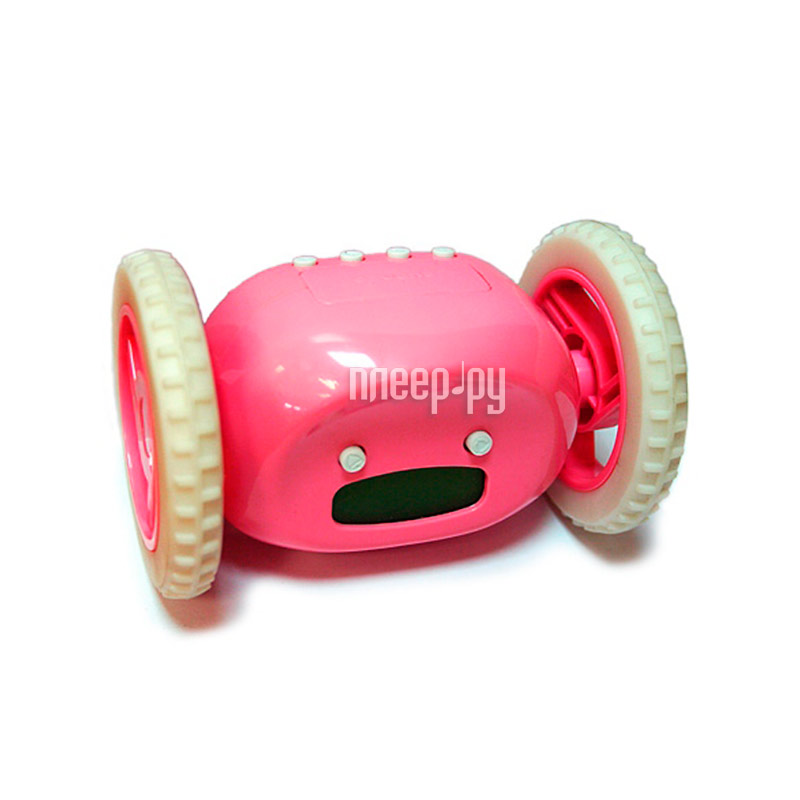 Гаджет Эврика Часы будильник Инопланетянин Pink 93484