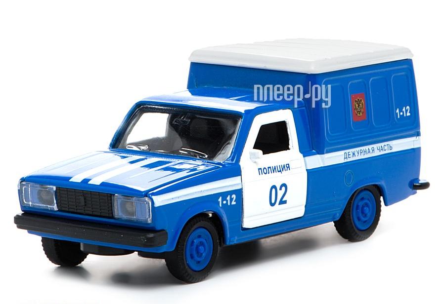 Машина Технопарк Фургон полиция CT12-370-3