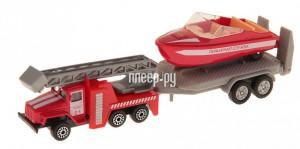 Купить Машина Технопарк УРАЛ с лодкой на прицепе SB-16-32-F-WB