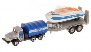 Купить Машина Технопарк УРАЛ с лодкой на прицепе SB-16-33-P-WB