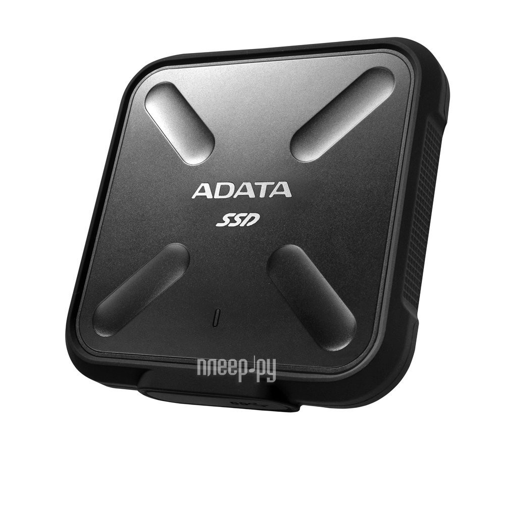 Жесткий диск A-Data SD700 256Gb USB 3.1 Black Color Box ASD700-256GU3-CBK