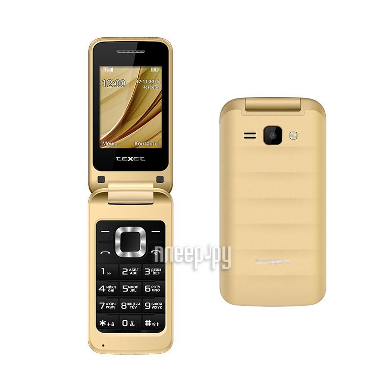Сотовый телефон teXet TM-304 Gold