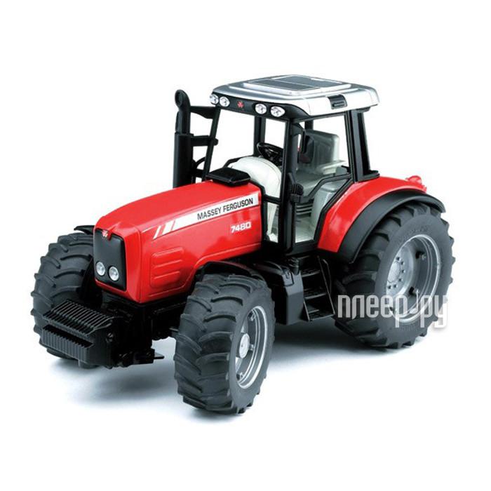 Машина Bruder Massey Ferguson 7480 трактор 02-040