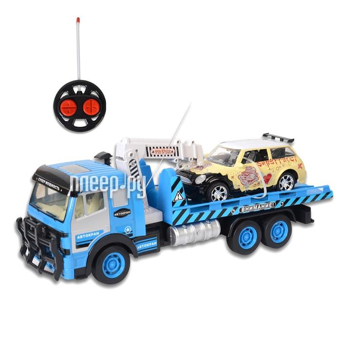 Радиоуправляемая игрушка Zhorya Грузовик с прицепом ZY365192