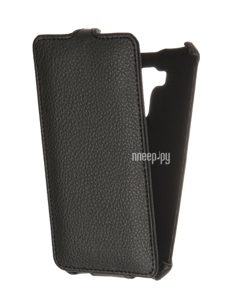 Аксессуар Чехол Asus ZenFone 3 Laser ZC551KL Gecko Black GG-F-ASZC551KL-BL