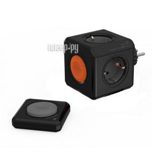 Купить Разветвитель Allocacoc PowerCube Remote Black 1510BK/EUORRM
