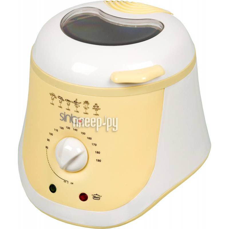 Фритюрница Sinbo SDF-3831 White-Yellow