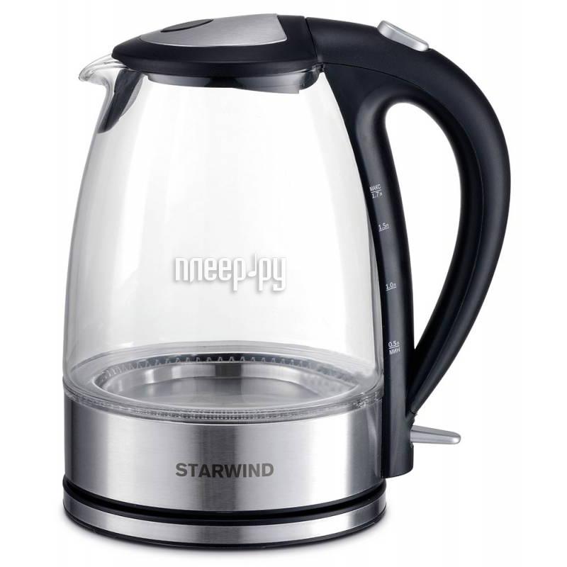 Чайник Starwind SKG7650 Silver-Black