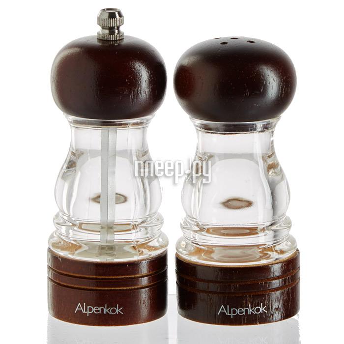 Мельница Набор мельница для специй + солонка Alpenkok AK-7024 / 2K