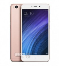 Сотовый телефон Xiaomi Redmi 4A 2Gb RAM 16Gb Rose Gold