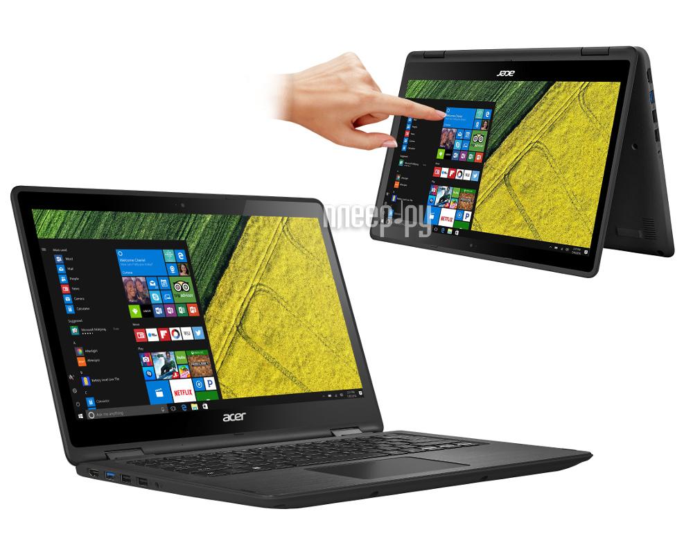Ноутбук Acer Spin SP513-51-79M8 NX.GK4ER.006 Black (Intel Core i7-7500U 2.7 GHz / 8192Mb / 256Gb SSD / No ODD / Intel HD Graphics / Wi-Fi / Bluetooth / Cam / 13.3 / 1920x1080 / Windows 10)