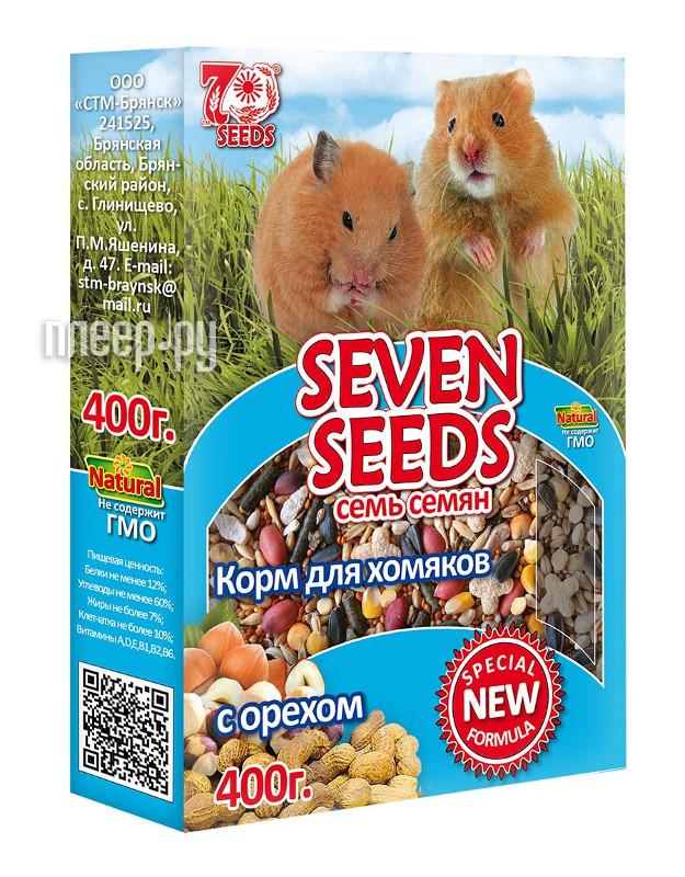 Корм Seven Seeds Special с орехом 400g для хомяков