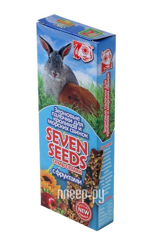 Лакомство Seven Seeds Палочки с фруктами 2шт для кроликов и морских свинок за 80 рублей