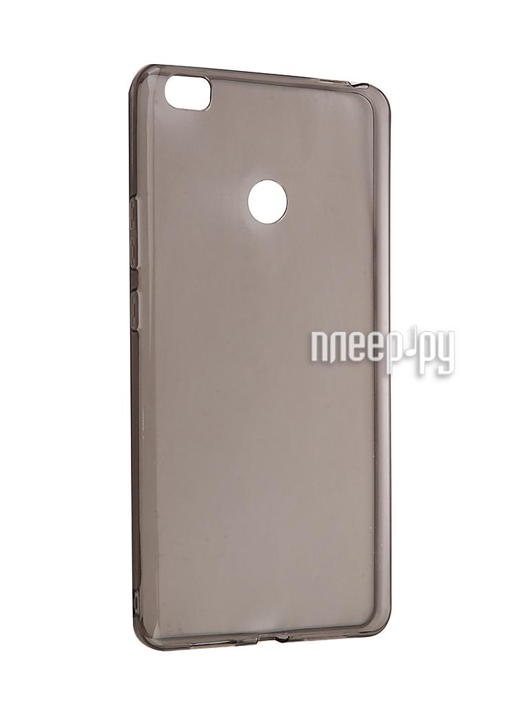 Аксессуар Чехол Xiaomi Mi Max Zibelino Ultra Thin Case Black ZUTC-XMI-MAX-BLK