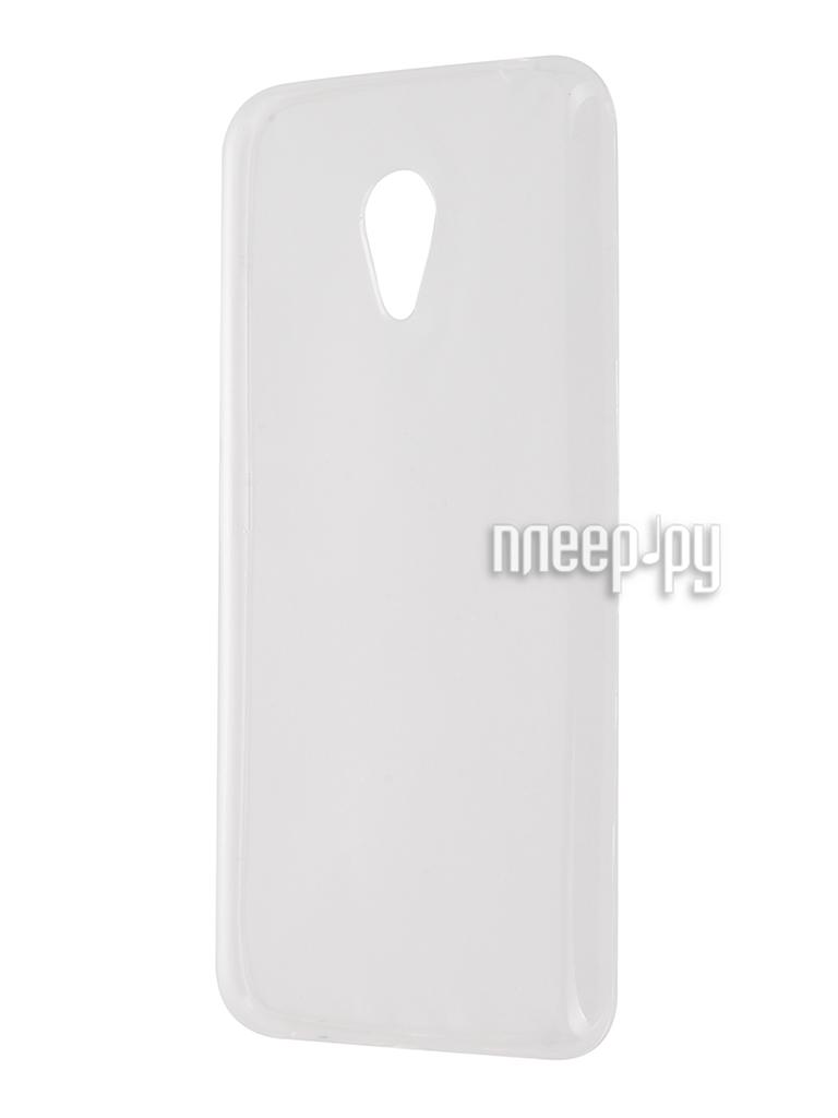 Аксессуар Чехол Meizu M3S Krutoff Transparent 11790