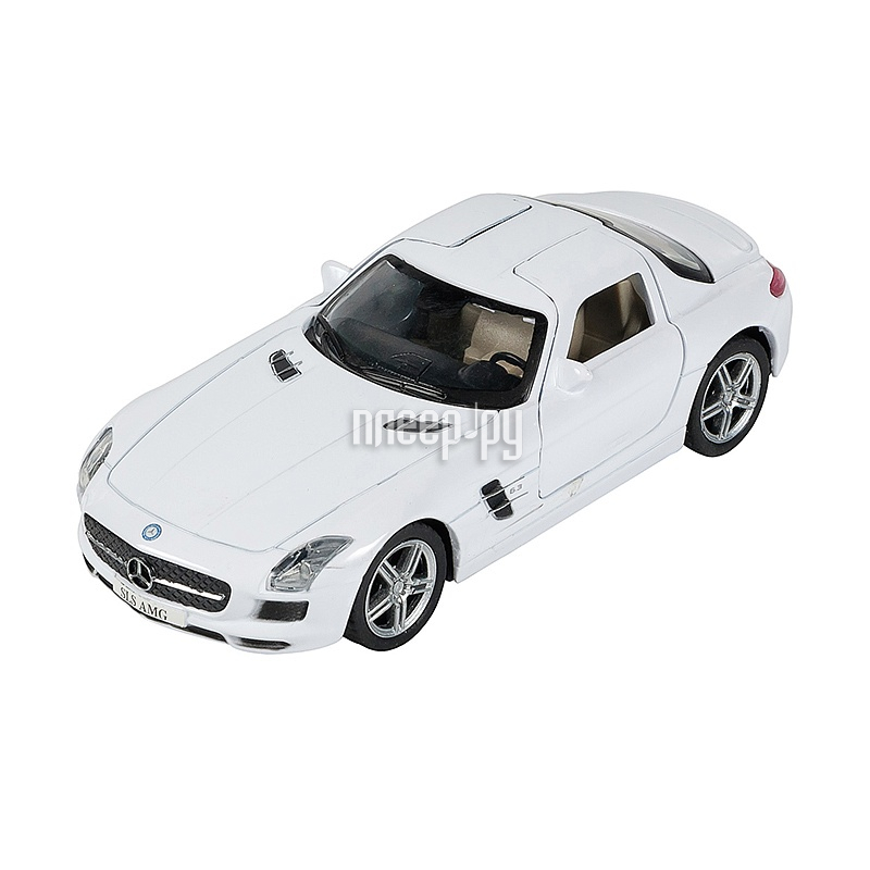 Машина PitStop Mercedes-Benz SLS AMG White PS-0616307-W