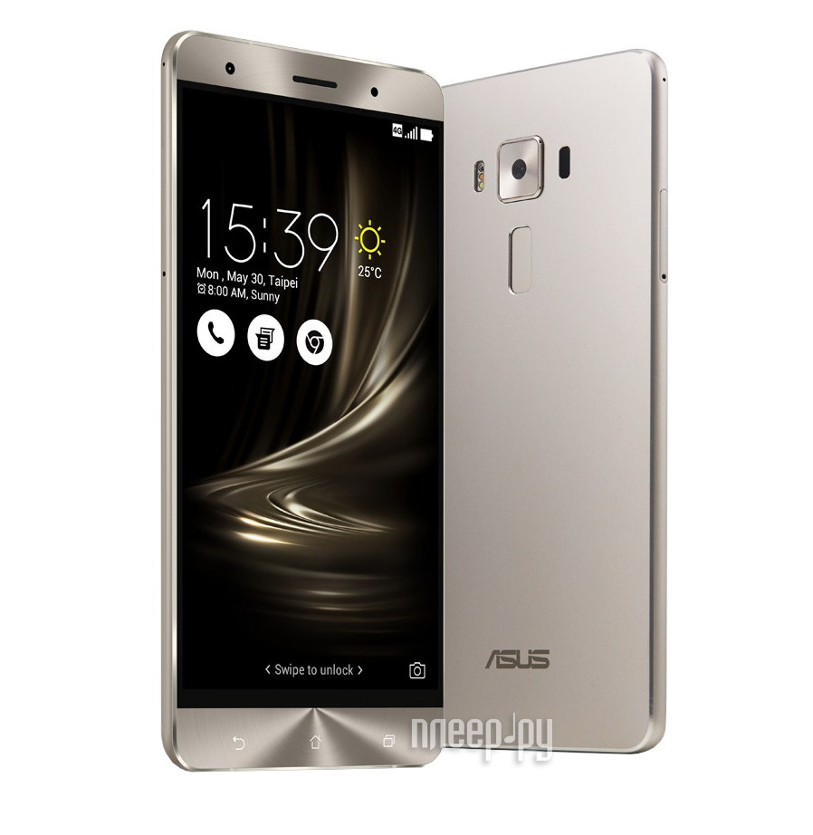 Сотовый телефон ASUS ZenFone 3 Deluxe ZS570KL 64Gb Silver