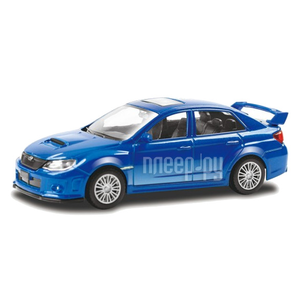 Машина PitStop Subaru WRX STI Blue PS-444006-B