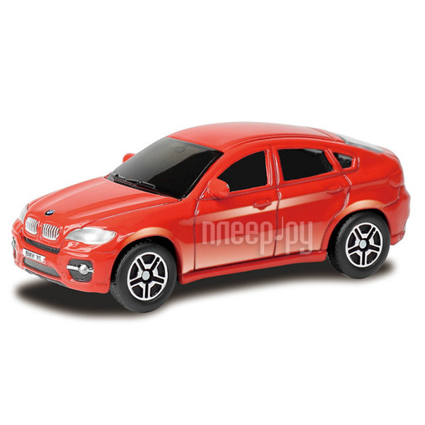 Машина PitStop BMW X6 Red PS-344002S-R