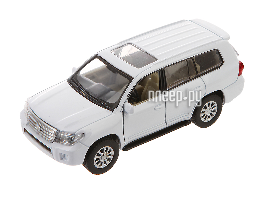 Машина PitStop Toyota Land Cruiser White PS-0616401-W