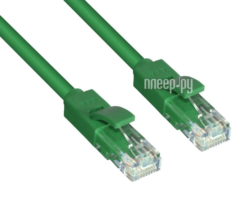 Аксессуар Greenconnect UTP 24AWG cat.5e RJ45 T568B 10m Green GCR-LNC05-10.0m