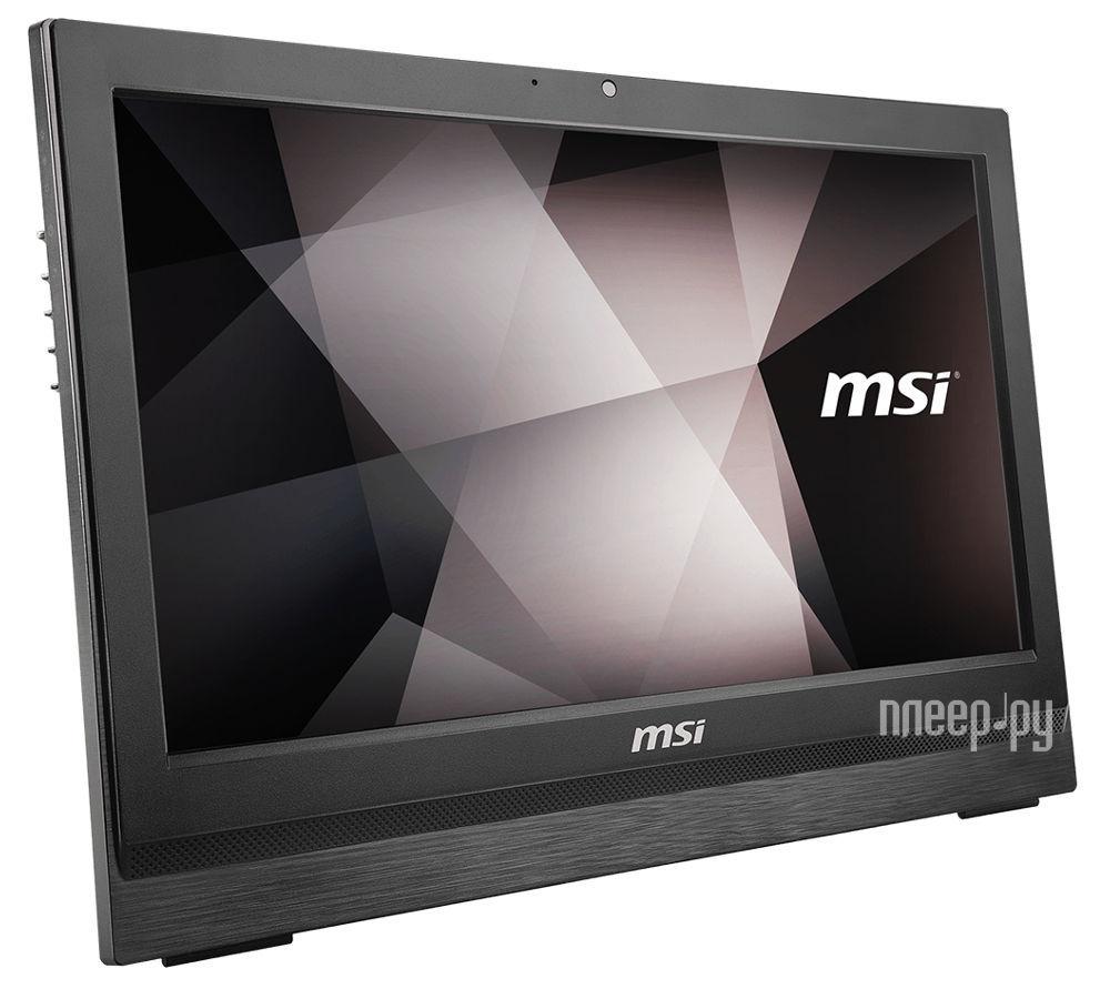 Моноблок MSI Pro 20 6M-018RU 9S6-AA7811-018 (Intel Core i3-6100 3.7 GHz / 4096Mb / 1000Gb / DVD-RW / Intel HD Graphics / Wi-Fi / Cam / 20.0 / Windows 10 64-bit)