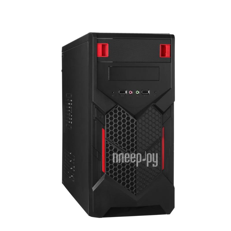 Корпус ExeGate QA-403 Black БП XP350 244507