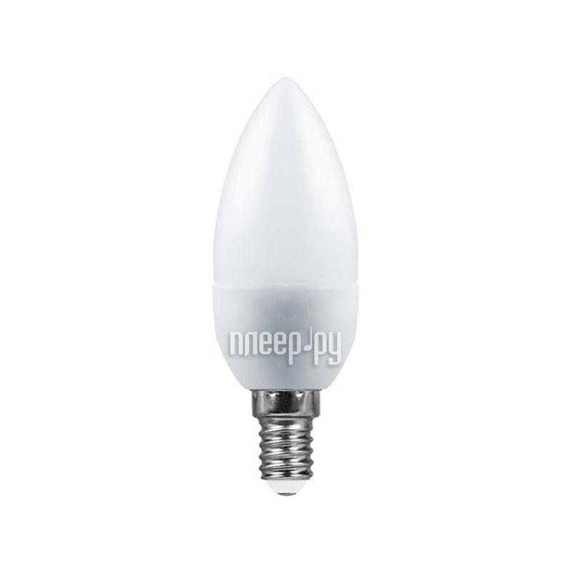 Лампочка SAFFIT C37 5W 2700K 230V E14 SBC3705 55019 купить