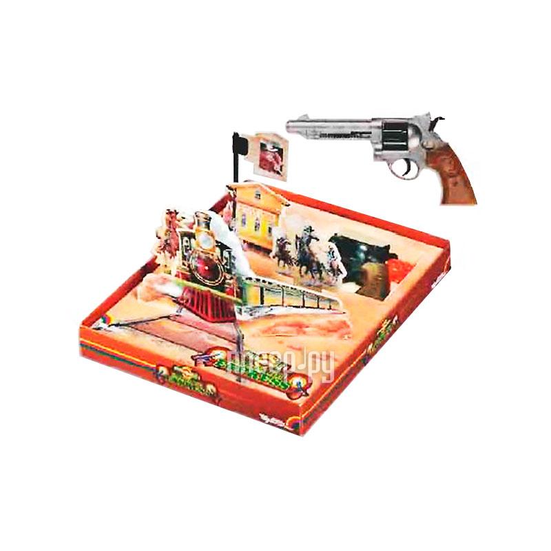Бластер Edison Набор с револьвером и мишенями Dodge Sity 636 / 22