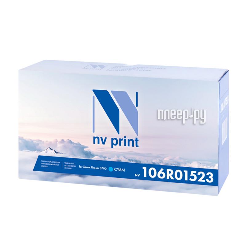 Картридж NV Print 106R01523 Cyan для Xerox Phaser 6700 купить